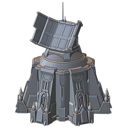 Radar Tower War Scenery Front