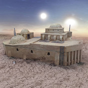 Desert Cantina War Scenery
