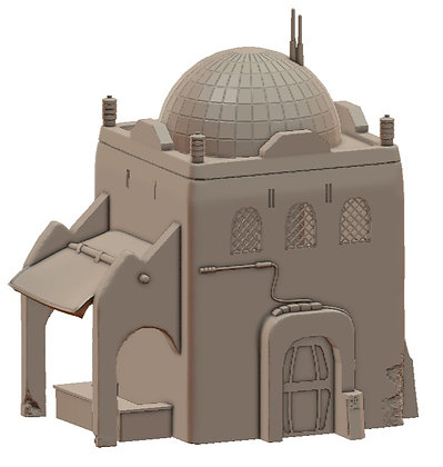 Sandhouse 6 by War Scenery from Desert Trading Post