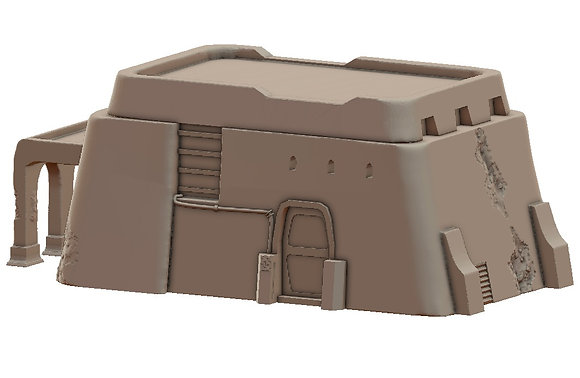 Sandhouse 1 by War Scenery from the Sci-Fi Desert Trading Post Collection