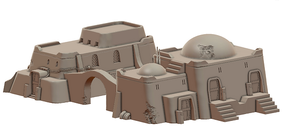 Sandhouse 4 by War Scenery from Desert Trading Post