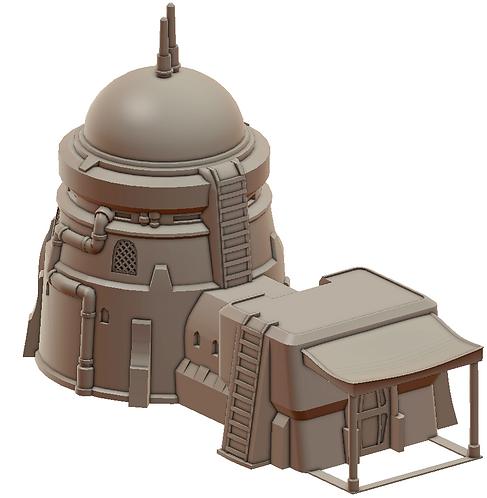 Desert Tower House