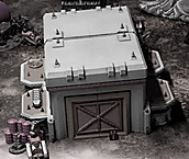 War Scenery Printed STL Models Vehicle D