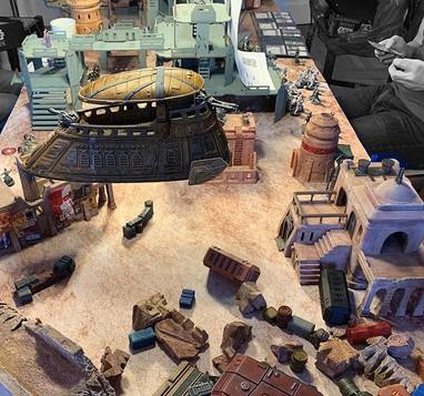 War Scenery Printed Yar'kassy Desert Terrains 2