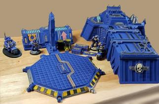 3D gedruckte Kapitelkapelle von War Scenery