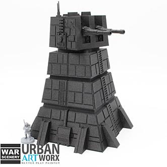 Heavy Cannon Tower War Scenery