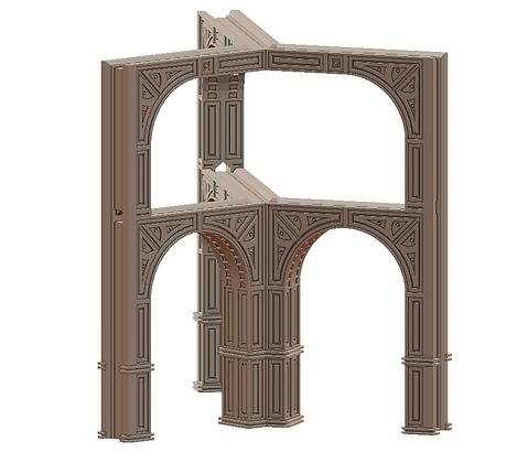Desert Modular Aqueduct by War Scenery from Desert Trading Post