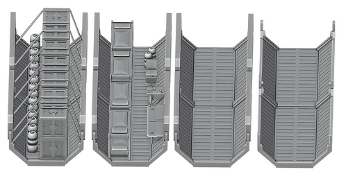 Modular Sci-Fi Containers by War Scenery