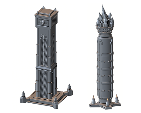 Order Pillars (War Scenery)