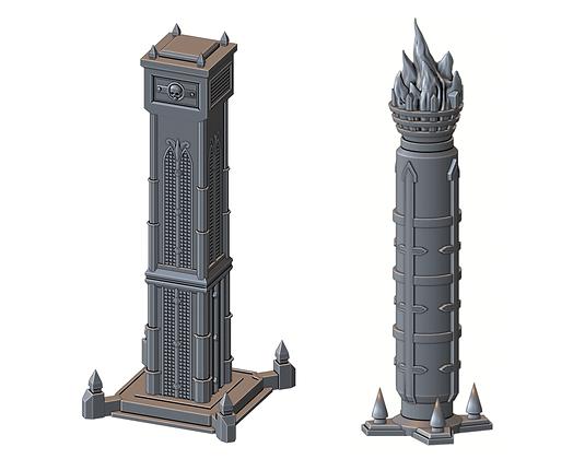 Order Pillars (War Scenery)