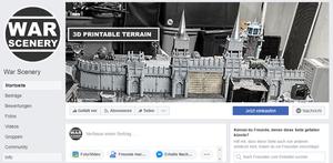 War Scenery Facebook