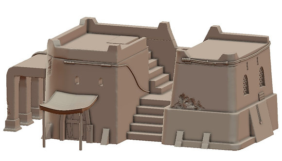 Sandhouse 5 by War Scenery from Desert Trading Post