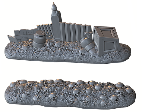 Order Improvised Walls Set (War Scenery)
