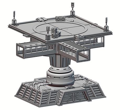 Stronghold Landing Tower War Scenery