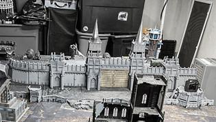 Kriegslandschaft Gedruckte Festung Wall.jpg