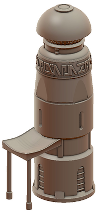 Convent Pillar War Scenery