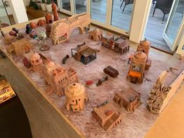 War Scenery Printed Yar'kassy Desert City