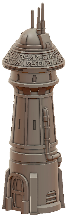 Convent Tower War Scenery