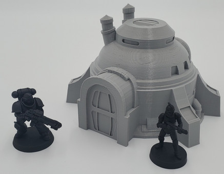 War Scenery Printed STL Model Desert Workshop