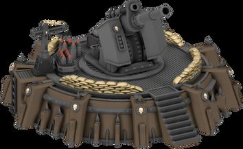 War Scenery Earthshaker Cannon