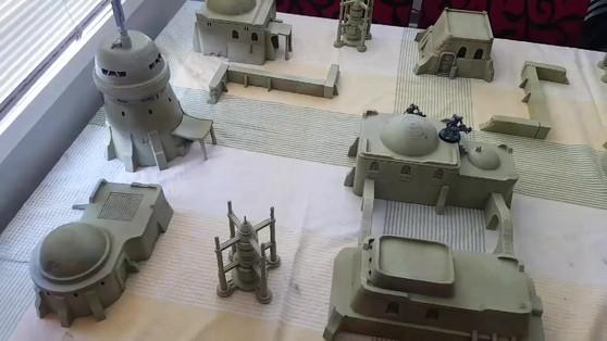Desert Trading Post War Scenery