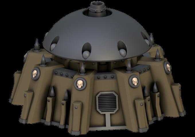 War Scenery Shield Generator
