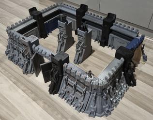 Grimdark Eternity Wall Fortress by War Scenery (3D printed)