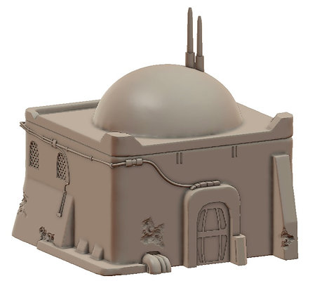Sandhouse 3 by War Scenery from the Sci-Fi Desert Trading Post Collection