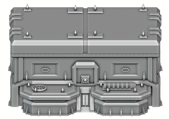 Vehicle Depot Side (War Scenery)