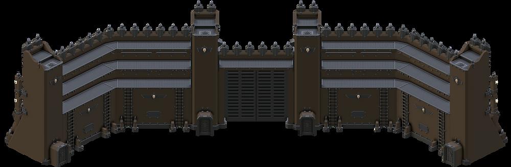 Higher Eternity Wall (War Scenery)