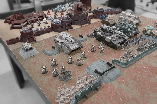 3D Printed War Scenery Terrain Board