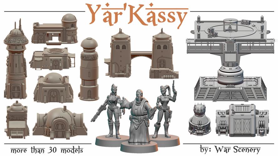 Yar'Kassy Kickstarter War Scenery