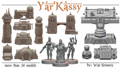 Yar'Kassy Kickstarter Kriegslandschaft