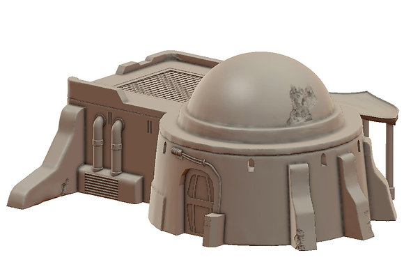 Sandhouse 2 by War Scenery from the Sci-Fi Desert Trading Post Collection