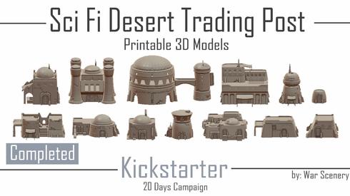 Desert Trading Post Kickstarter War Scenery