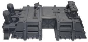 HQ War Scenery für gedruckte Fahrzeuge