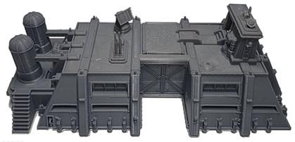 Printed Vehicle HQ War Scenery