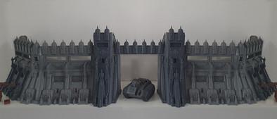 War Scenery Eternity Wall 3D Printed
