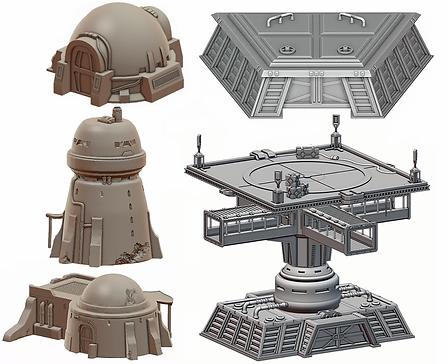 Legion 3D Models by War Scenery
