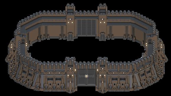 Eternity Wallfrom Grimdark Stronghold byWar Scenery