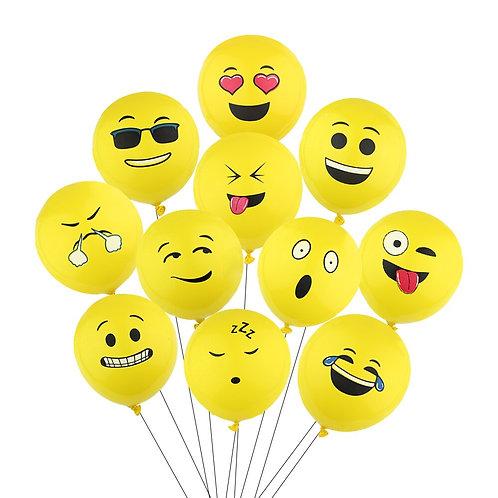 """Латексные шары""""смайлик""""(35 см.)"""
