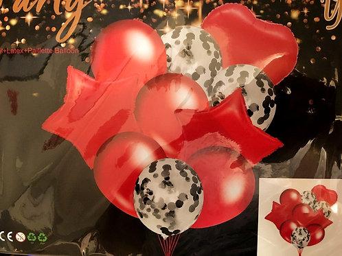 Фонтаны из фольгированных шаров