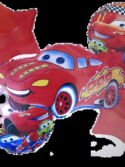 """Фольгированные шары""""Тачки"""""""