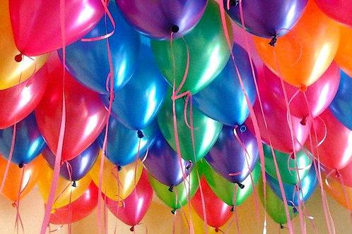 Латексные шары цветные (35 см.)