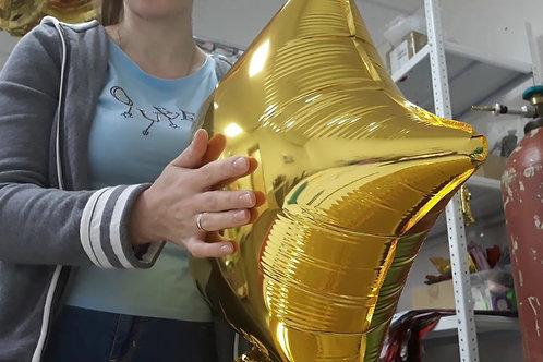 Надув ваших шаров (фольгированные)