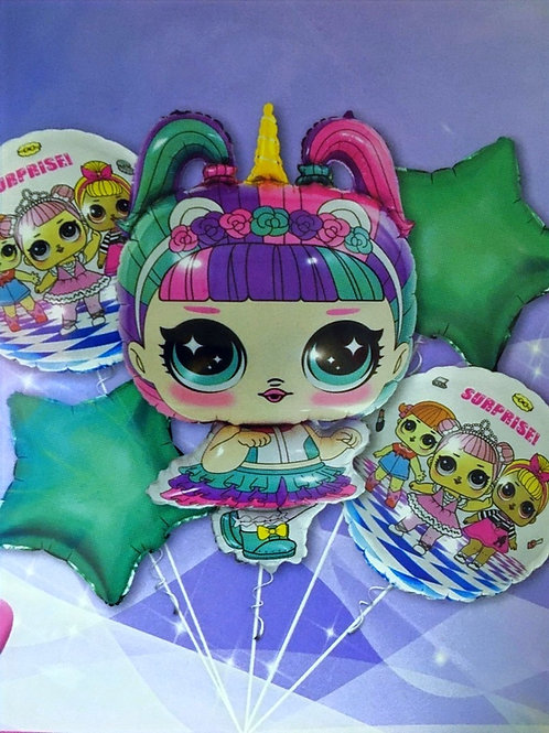 Фольгированные шары для девочек