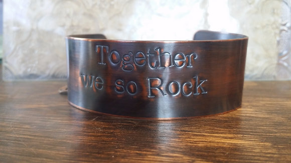 Together we so rock