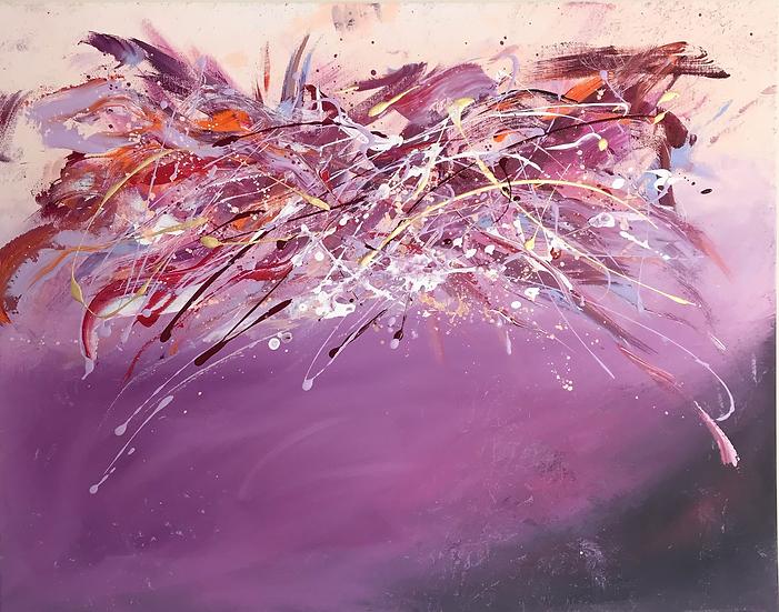 """Lilac Bloom 22 x 28"""""""