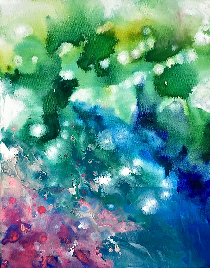 """Glowing Now 8 x 10"""""""