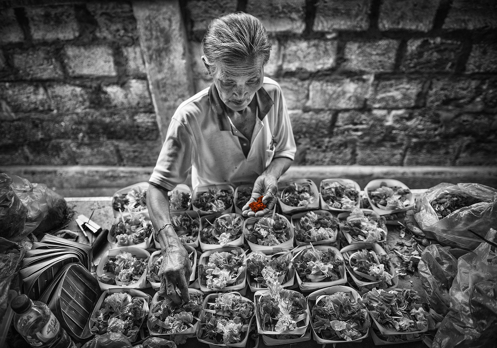 Canang Seller